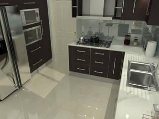 Moderne Küchen von homify Modern Massivholz Mehrfarbig