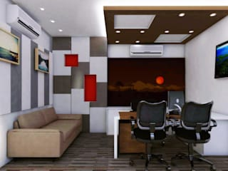 Interior Office project by Izza Architects & Interior designers
