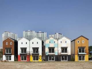 Houses by 스투디오 테이크, Modern