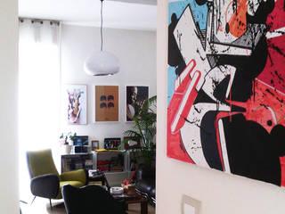 SG House Soggiorno eclettico di Studiounodesign Eclettico