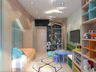 Скандинавское настроение Детская комнатa в скандинавском стиле от Giovani Design Studio Скандинавский