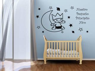 El Principito sobre la Luna:  de estilo  de Vinilos infantiles