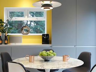 Contemporary kitchen, Essex 모던스타일 주방 by Paul Langston Interiors 모던