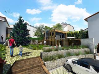 Modern style gardens by atelier AMEG Modern
