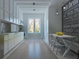 homify Modern kitchen Grey