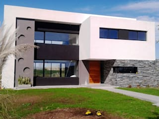 Casa M2 - Estudio Fernandez+Mego: Casas de estilo  por Estudio Fernández+Mego