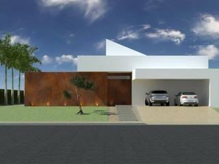 Projeto Residencial T FJR Casas modernas por Trí Arquitetos Moderno