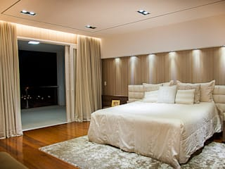 Bedroom by A/ZERO Arquitetura, Modern