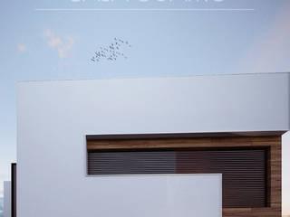 Casa 4 Casas minimalistas de Besana Studio Minimalista