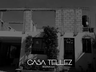 Ampliacion Casa Tellez Casas minimalistas de Besana Studio Minimalista