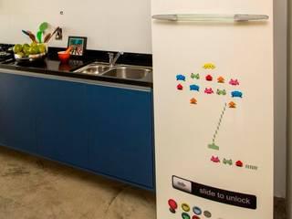 Apê LB - Maxhaus: Cozinhas  por Estúdio Ventana