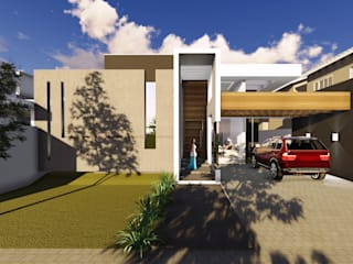 Maisons modernes par BOULEVARD ARQUITETURA Moderne