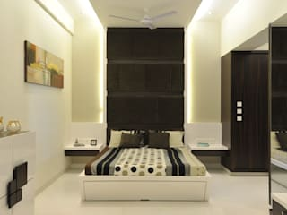 Bedroom by Aum Architects