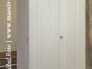 Flurschrank 2-türig mit Einlegeböden und Schubladen:  Flur, Diele & Treppenhaus von Massiv aus Holz