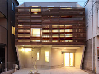 一級建築士事務所アトリエm Modern houses Wood Wood effect
