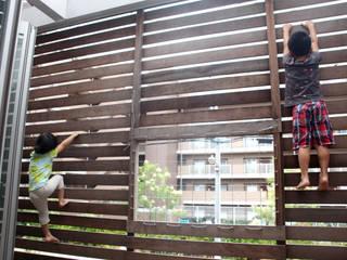 Modern balcony, veranda & terrace by atelier m Modern