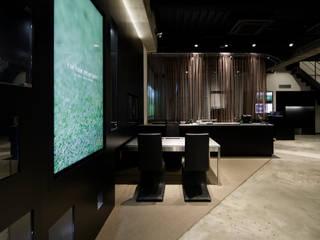 一級建築士事務所アトリエm Modern style study/office