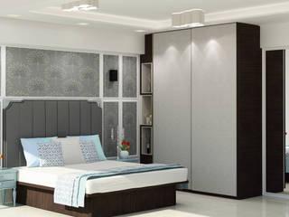 Residential - Agarwal Modern style bedroom by Nestopia Modern