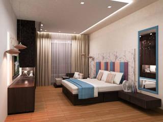 Residential - Agarwal:  Bedroom by Nestopia