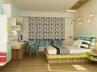 Residential - Agarwal:  Nursery/kid's room by Nestopia