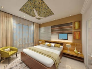Residential - Dataye Modern style bedroom by Nestopia Modern