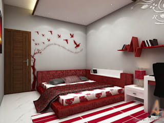 Modern Bedroom by A Mans Creation Modern