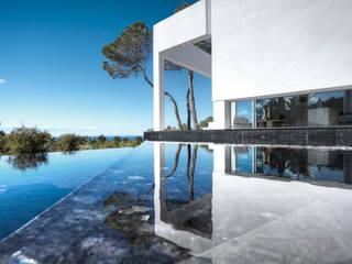 Casa del Agua: Casas de estilo  de MG&AG.ARQUITECTOS