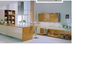 acrylic modular kitchen Modern kitchen by param associates Modern