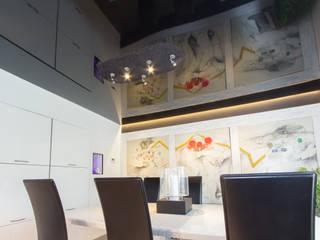 Esszimmer schwarze Lackdecke Dipline Klassische Esszimmer von Mettner Raumdesign Klassisch