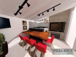 Espaço Gourmet: Cozinhas  por Priscila Acosta Arquitetura,Moderno