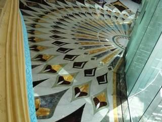Mondial Marmi SRL Modern Corridor, Hallway and Staircase