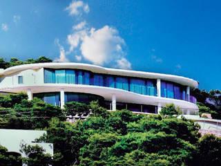 Casa Nube: Casas de estilo  de MG&AG.ARQUITECTOS