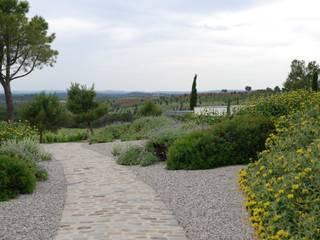 Un jardin sur gravier contemporain Jardin moderne par Jean-Jacques Derboux Moderne