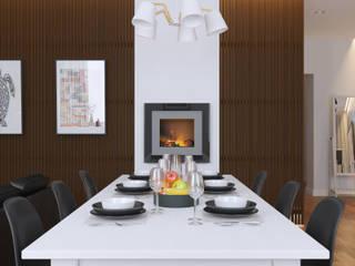Ruang Keluarga oleh 2GO Design Studio, Modern