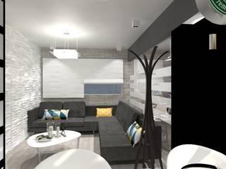 Minimalist living room by AurEa 34 -Arquitectura tu Espacio- Minimalist