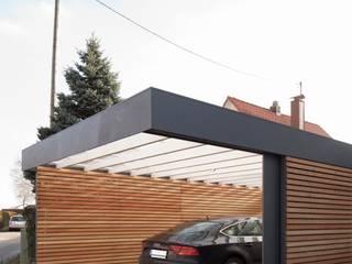 Garajes modernos de Architekt Armin Hägele Moderno