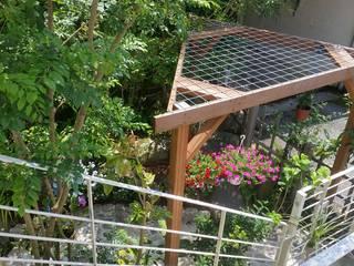 艸木/SOUMOKU Jardines de estilo ecléctico Madera Multicolor