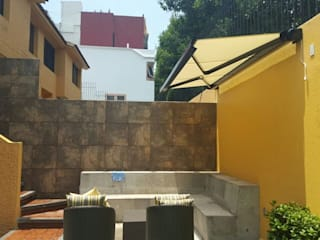 TOLDO ARES  GAVIOTA con BOX para generar un especio exterior en tu TERRAZA o JARDIN:  de estilo  por HLA181026V73