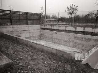 Pool & Garden : Piscina in stile  di LTAB/LAB STUDIO