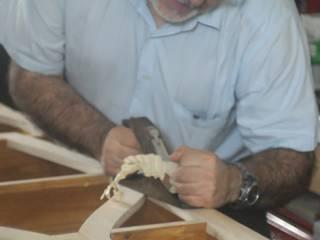 Fabricación de mueble expositor:  de estilo  de El Sitio del Carpintero