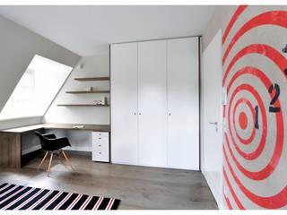 Familienvilla in Grünwald:  Arbeitszimmer von Heerwagen Design Consulting