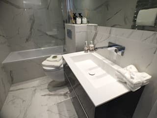 Hyde Park Square Central London: modern Bathroom by Progressive Design London