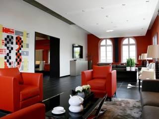 Einrichtung öffentliche Lounge:   von Petra Böhm Inneneinrichtungen e. K.