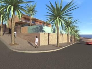 Casa Luanda: Casas  por Lousinha Arquitectos,Moderno