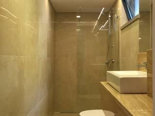 Case de Banho 3 Casas de banho modernas por HighPlan Portugal Moderno Pedra