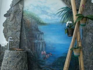роспись-аэрография Зимнего сада от Художественная мастерская 'Оникс' Средиземноморский