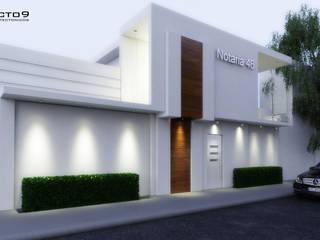 arquitecto9.com Minimalist house Concrete White