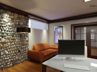 Study/office by arquitecto9.com, Minimalist