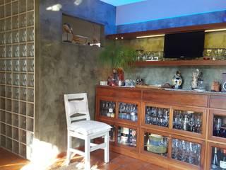 Diseño de un Espacio Gourmet en una casa de Buenos Aires: Livings de estilo  por Laura Avila Arquitecta - Ciudad de Buenos Aires,Moderno