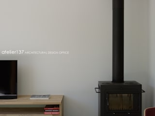 根據 atelier137 ARCHITECTURAL DESIGN OFFICE 北歐風 鐵/鋼